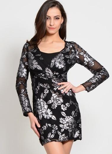 Lıttle Mıstress Kısa Abiye Elbise Siyah